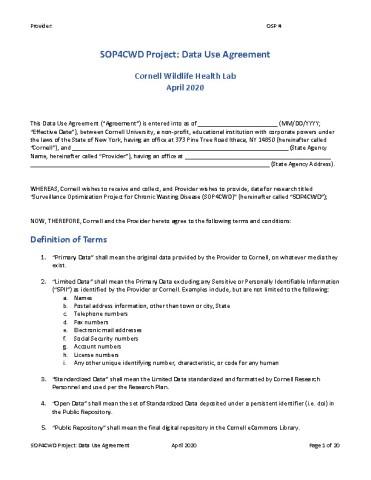 Image of filalble DUA form