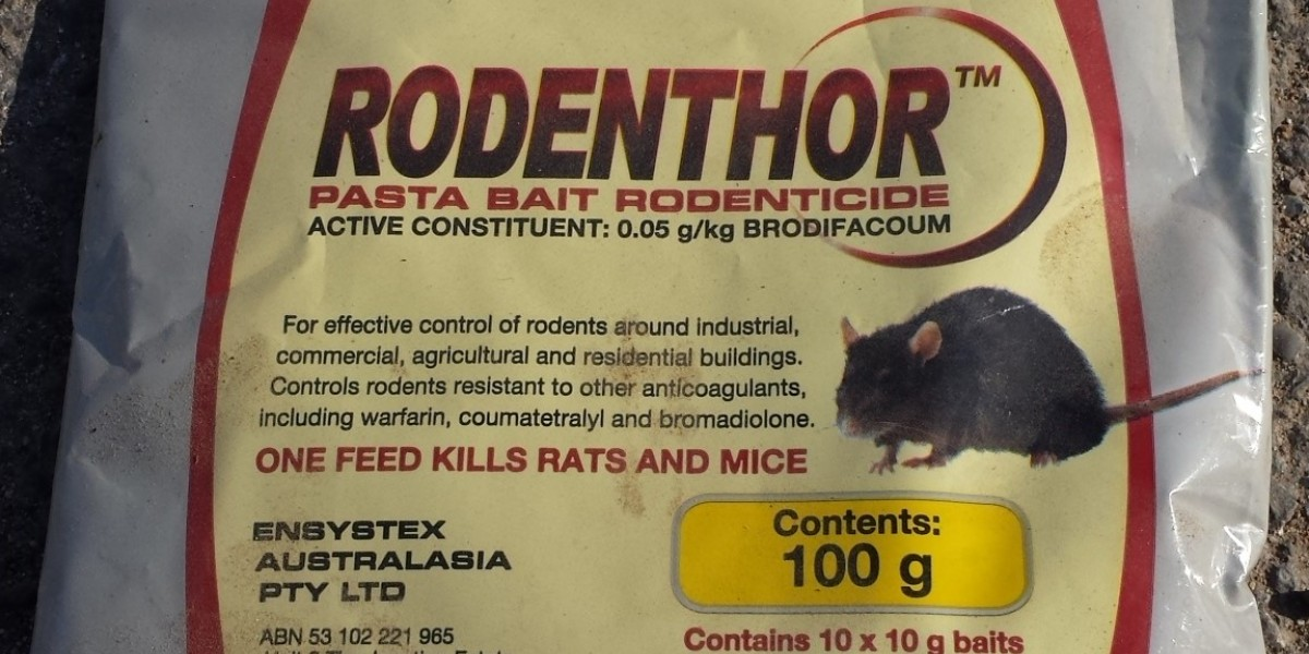 Third generation rodenticide, Brodifacoum package image